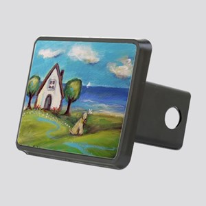 Soft Coated Wheaten Terrier Summer Cottage Hitch C