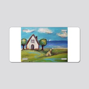 Soft Coated Wheaten Terrier Summer Cottage Aluminu