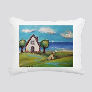 Soft Coated Wheaten Terrier Summer Cottage Rectang