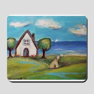 Soft Coated Wheaten Terrier Summer Cottage Mousepa