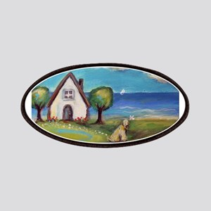 Soft Coated Wheaten Terrier Summer Cottage Patches