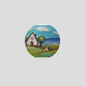 Soft Coated Wheaten Terrier Summer Cottage Mini Bu