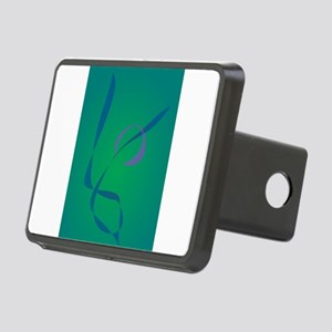 Abstract Rabbit Green Hitch Cover
