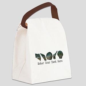 Original Seashell Customizable Ar Canvas Lunch Bag