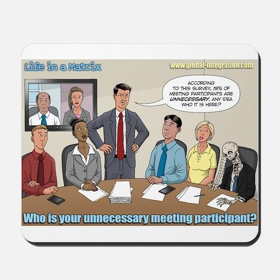 Unnecessary Participants? Mousepad