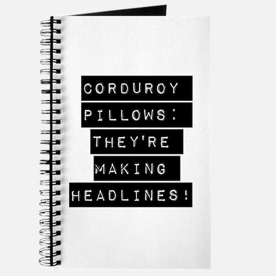 Corduroy Pillows Journal
