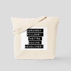 Corduroy Pillows Tote Bag