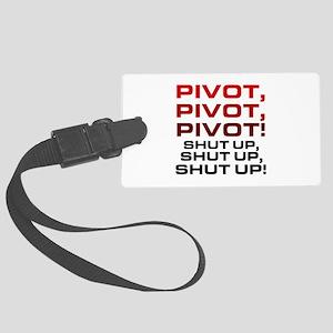 'Pivot!' Large Luggage Tag