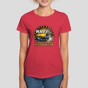 Aircraft Carrier Women's Dark T-Shirt