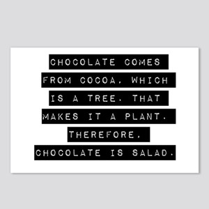 Chocolate Comes From Cocoa Postcards (Package of 8