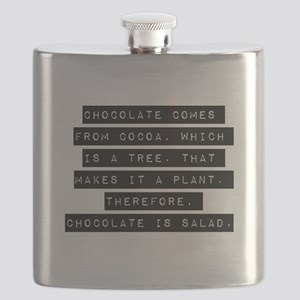 Chocolate Comes From Cocoa Flask