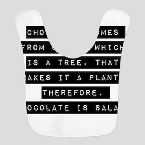 Chocolate Comes From Cocoa Bib