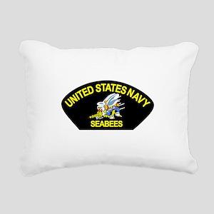 SEABEES_CAN_DO Rectangular Canvas Pillow