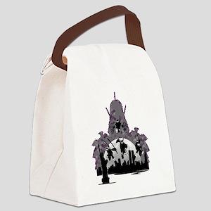 Enter The Shredder Canvas Lunch Bag