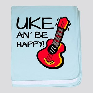 Uke an' be happy! baby blanket