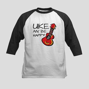 Uke an' be happy! Baseball Jersey