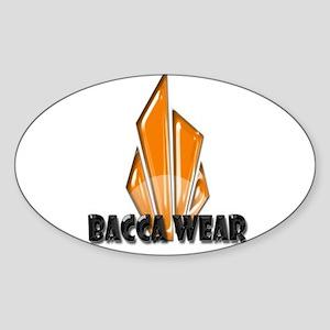 Bacca Wear Logo Oval Sticker
