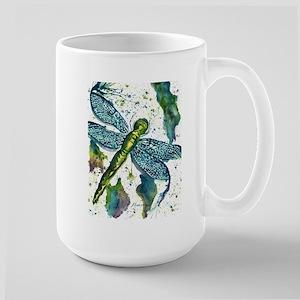 Dragonfly Druzy Mugs
