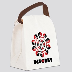 DISOBEY4 Canvas Lunch Bag