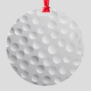 Cool White Golf Ball Texture, Golfer Ornament