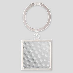 Cool White Golf Ball Texture, Golfer Keychains