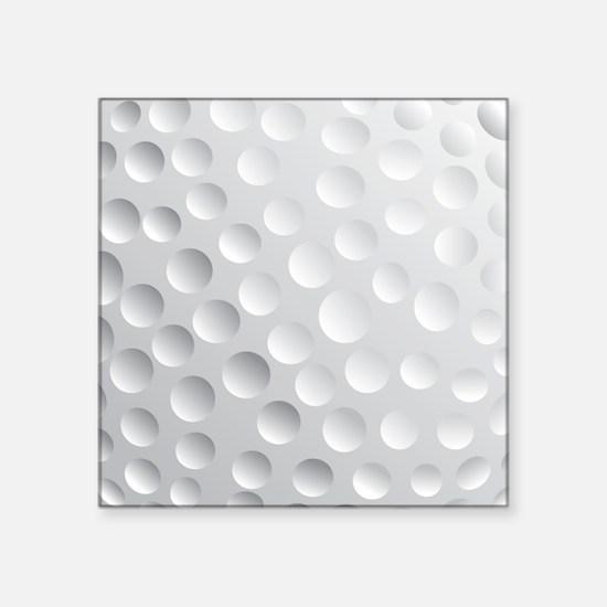 Cool White Golf Ball Texture, Golfer Sticker