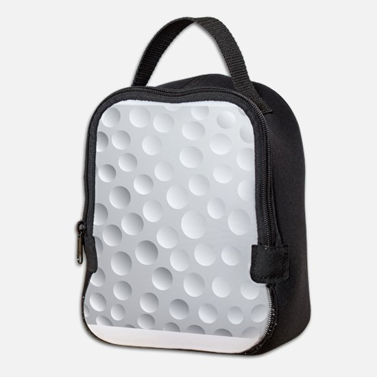 Cool White Golf Ball Texture, Golfer Neoprene Lunc