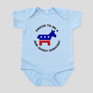 Proud New Jersey Democrat Infant Bodysuit