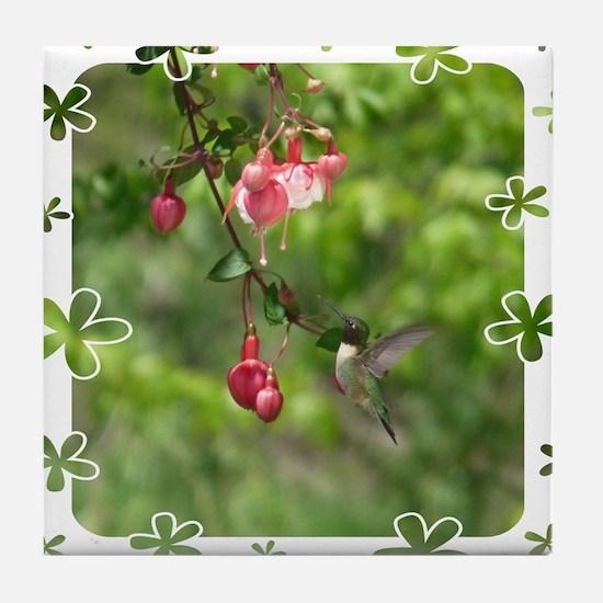 Hummingbird Tile Coaster