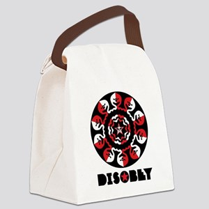 DISOBEY3 Canvas Lunch Bag