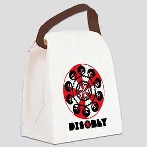 DISOBEY1 Canvas Lunch Bag