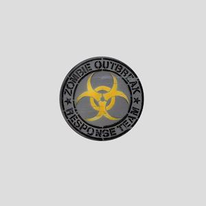 Zombie Outbreak Response Team Mini Button