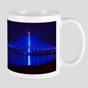 Indian River Bridge at Night Mugs