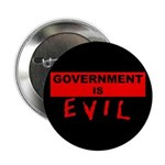 """Government is Evil 2.25"""" Button (100 pack)"""