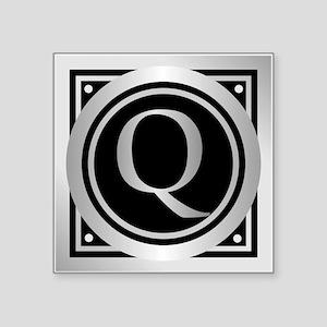 Deco Monogram Q Sticker