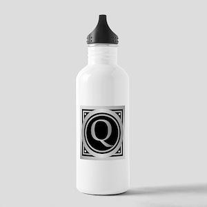 Deco Monogram Q Water Bottle