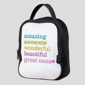 Great Nana - Amazing Awesome Neoprene Lunch Bag