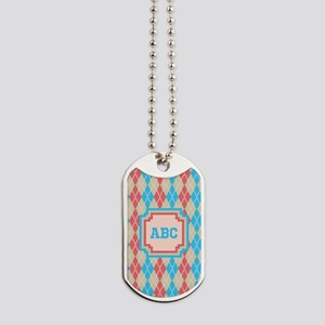 At the Beach Argyle Dog Tags