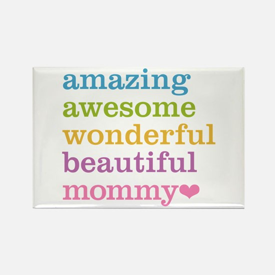Mommy - Amazing Awesom Rectangle Magnet (100 pack)