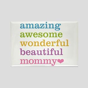 Mommy - Amazing Awesome Rectangle Magnet