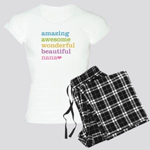 Nana - Amazing Awesome Women's Light Pajamas
