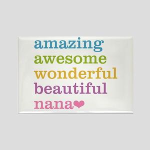 Nana - Amazing Awesome Rectangle Magnet