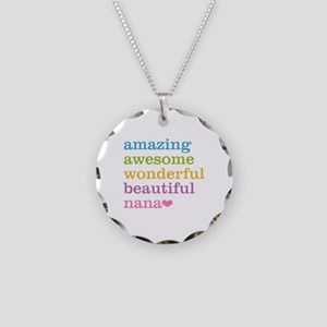 Nana - Amazing Awesome Necklace Circle Charm