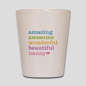 Nanny - Amazing Awesome Shot Glass
