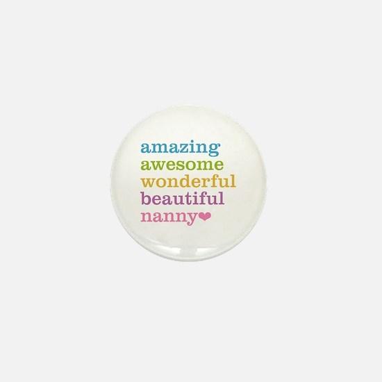 Nanny - Amazing Awesome Mini Button