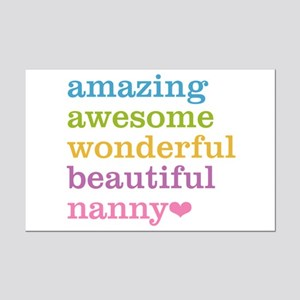 Nanny - Amazing Awesome Mini Poster Print