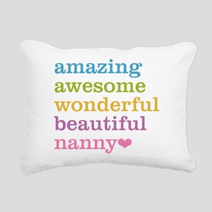 Nanny - Amazing Awesome Rectangular Canvas Pillow