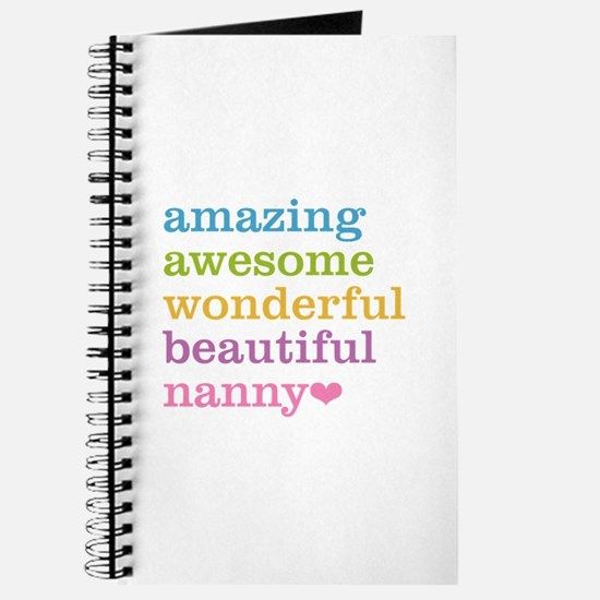 Nanny - Amazing Awesome Journal