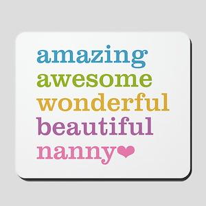 Nanny - Amazing Awesome Mousepad