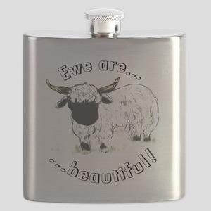 Ewe are beautiful! Flask